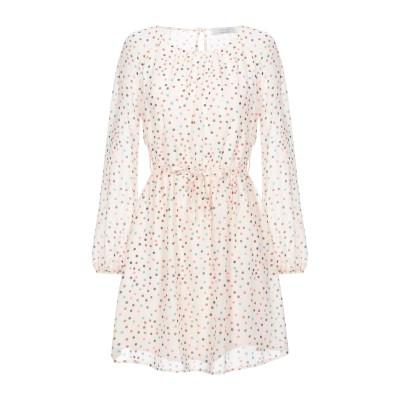 カオス KAOS ミニワンピース&ドレス アイボリー 42 ポリエステル 100% ミニワンピース&ドレス