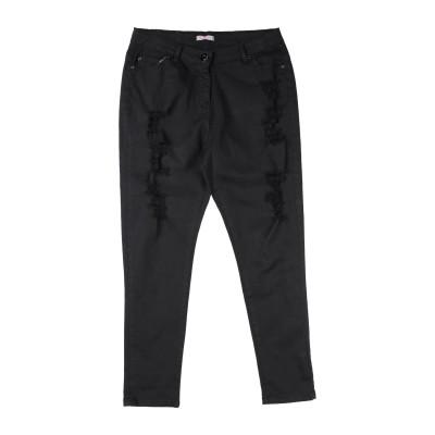 FRACOMINA MINI パンツ ブラック 14 コットン 98% / ポリウレタン 2% パンツ