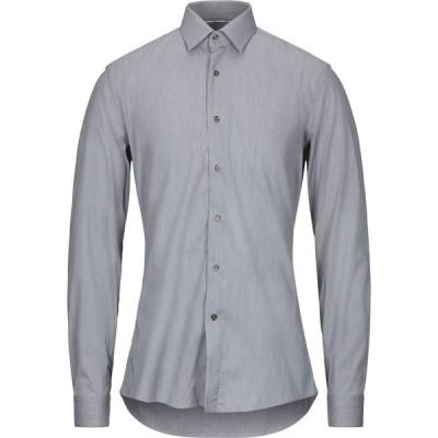 ウンガロ UNGARO メンズ シャツ トップス Solid Color Shirt Grey