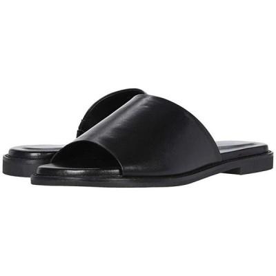 ハッシュパピー Lexi Slide レディース サンダル Black Leather