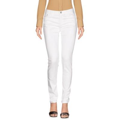 アルマーニ ジーンズ ARMANI JEANS パンツ ホワイト 28 コットン 98% / ポリウレタン 2% パンツ