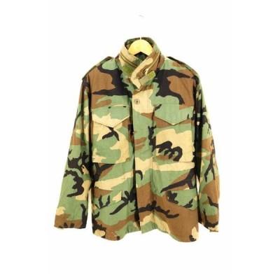 ユーエスアーミー U.S.ARMY 80S M-65 WINFIELD MFG ウッドカモフィールドジャ 中古 ブランド古着バズストア 200713