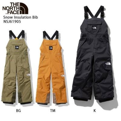 THE NORTH FACE ザ・ノースフェイス スキーウェア キッズ ジュニア パンツ 2021 Snow Insulation Bib/ NSJ61905