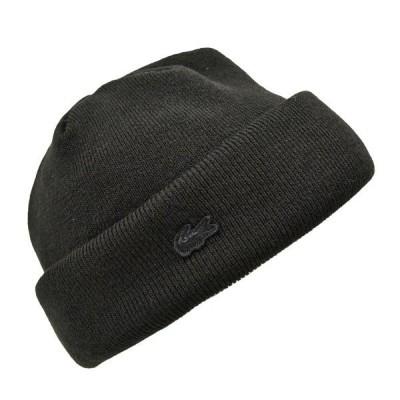 ラコステ・アクリルウールホットレイワッチ/LACOSTE 黒 グレー あたたかい ニット帽 シンプル メンズ レディース 送料無料 日本製 帽子