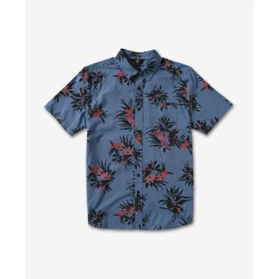 ボルコム メンズ シャツ トップス Men's Floral with Cheese Shirt