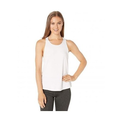 tasc Performance タスクパフォーマンス レディース 女性用 ファッション アクティブシャツ Twist Back Tank Top - White