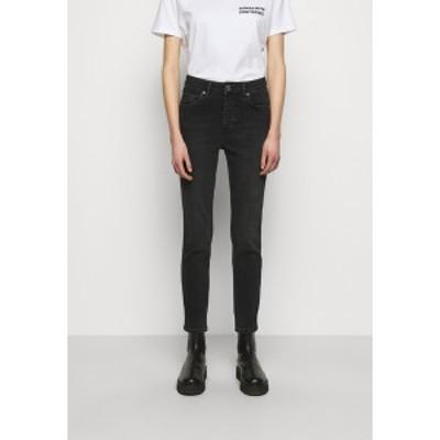 セカンド デイ レディース デニムパンツ ボトムス 2ND RIGGIS THINK TWICE - Straight leg jeans - black black