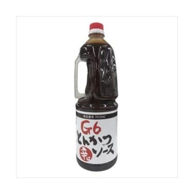 タカハシソース G6とんかつソース辛口 1.8L 8本セット 701240 (APIs) (軽税)