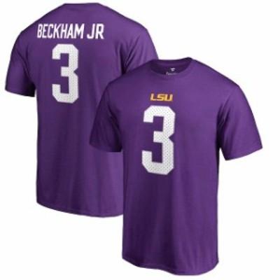 Fanatics Branded ファナティクス ブランド スポーツ用品  Fanatics Branded Odell Beckham Jr LSU Tigers Purple Coll
