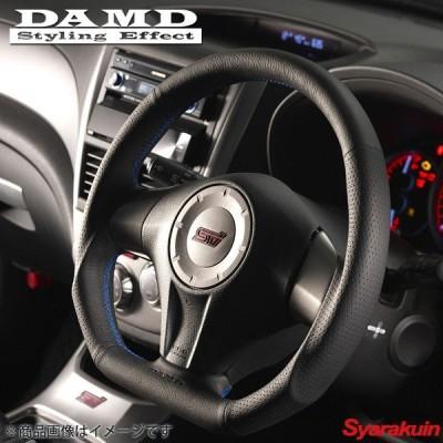 DAMD/ダムド ステアリング SS358-D(L) ブルーステッチ エクシーガクロスオーバー7 YAM アプライド:H-