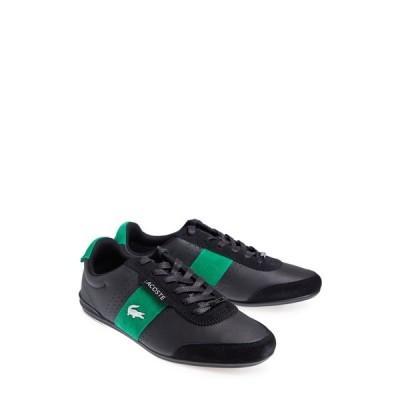 ラコステ メンズ スニーカー シューズ Orena Sneaker 1B4 BLK/GRN