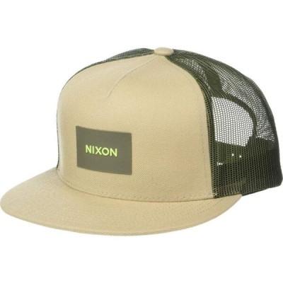 ニクソン Nixon メンズ キャップ トラッカーハット 帽子 Team Trucker Hat Khaki/Olive