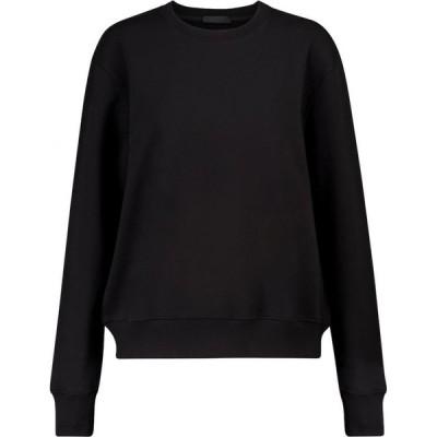 ワードローブ ニューヨーク WARDROBE.NYC レディース スウェット・トレーナー トップス release 02 cotton sweatshirt Black