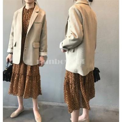 テーラードジャケット レディース スーツジャケット 韓国風 20代 30代 40代 おしゃれ きれいめ 長袖 アウター 卒業式 面接 カジュアル
