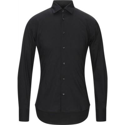 タケシ クロサワ TAKESHY KUROSAWA メンズ シャツ トップス Solid Color Shirt Black