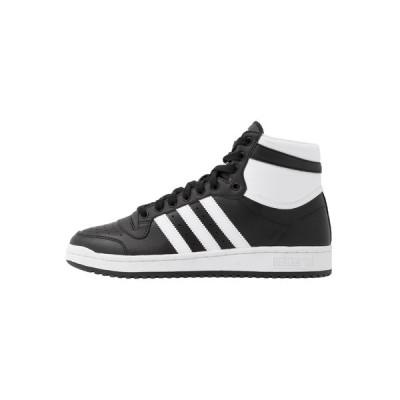アディダスオリジナルス スニーカー メンズ シューズ TOP TEN - High-top trainers - core black/footwear white/core white