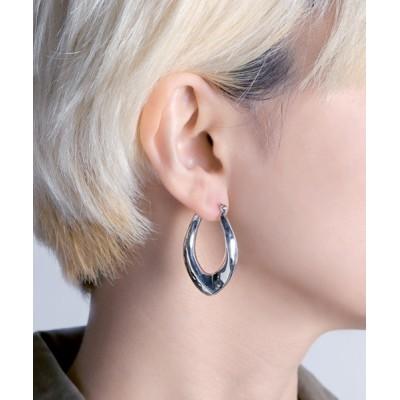 ピアス 【YArKA/ヤーカ】silver925 nuance U pierce[nui]/ニュアンスU型ピアス シルバー925