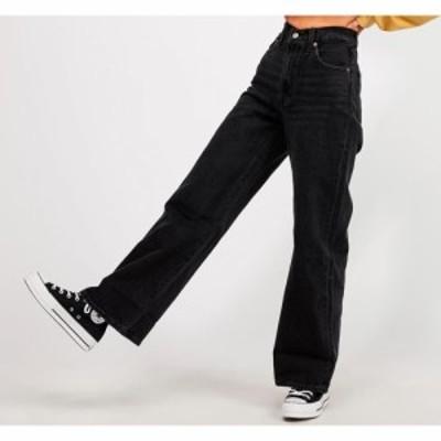リーバイス Levis レディース ジーンズ・デニム ワイドパンツ ボトムス・パンツ Ribcage Wide Leg Jean Black Book