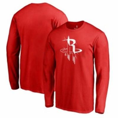 Fanatics Branded ファナティクス ブランド スポーツ用品  Fanatics Branded Houston Rockets Red X-Ray Long Sleeve T