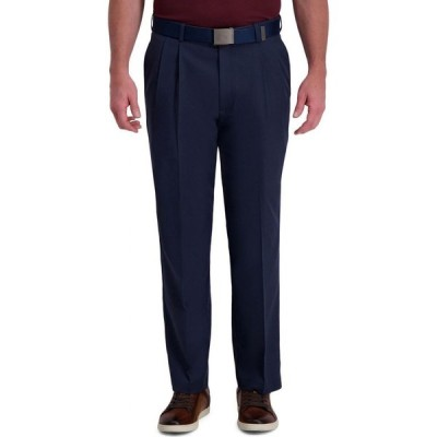 ハガー Haggar メンズ スラックス ボトムス・パンツ Cool Right Performance Flex Classic Fit Pleat Front Pant Ink
