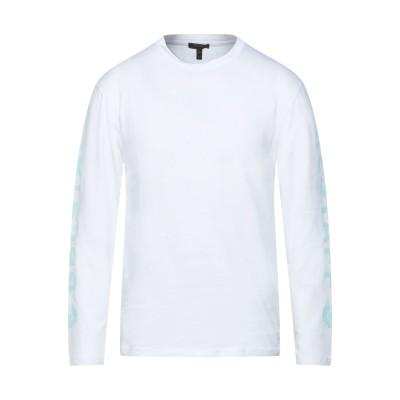 ベルスタッフ BELSTAFF T シャツ ホワイト S コットン 100% T シャツ