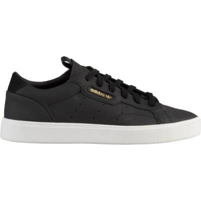 アディダス adidas Originals レディース スニーカー シューズ・靴 Sleek Black/White