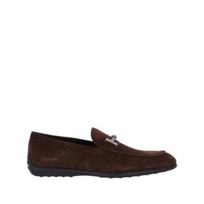 TOD'S トッズ モカシン  メンズファッション  メンズシューズ、紳士靴  モカシン ダークブラウン