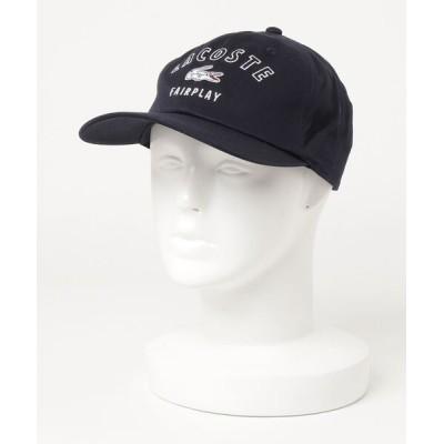 RAWLIFE / LACOSTE/ラコステ/arch logo 6panel twill cap/アーチロゴ6パネルツイルキャップ MEN 帽子 > キャップ