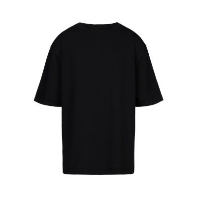 WARREN LOTAS スウェットシャツ ブラック S/M コットン 100% スウェットシャツ
