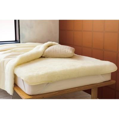 シングル  (メリノン ふかふか毛布シリーズ 敷き毛布) アイボリー