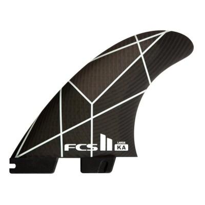FCS2 フィン エフシーエス2 KA トライフィン WHT/GRY KOLOHE ANDINO TRI FINS 3サイズ ショートボード用フィン 3本セット Performance Core