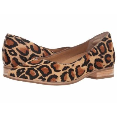 ドクター・ショール サンダル シューズ レディース Flair - Original Collection Tan Multi Leopard Pony Hair