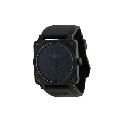 ベルアンドロス 腕時計 Bell Ross Phantom オートマチック ブラック ラバー メンズ 腕時計 BR0392-PHANTOM-CE