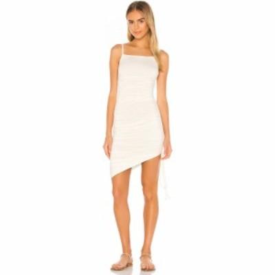 マジョレル MAJORELLE レディース ワンピース ミニ丈 ワンピース・ドレス Janice Mini Dress White