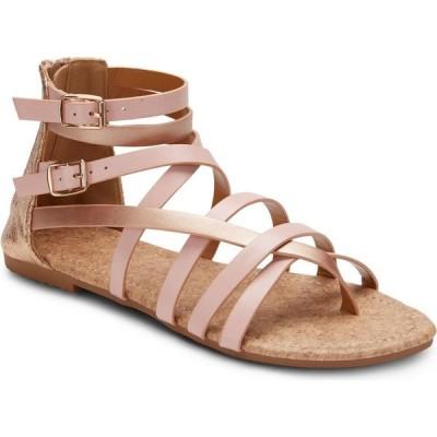 オリビアミラー Olivia Miller レディース サンダル・ミュール シューズ・靴 modern romance two tone sandals Blush