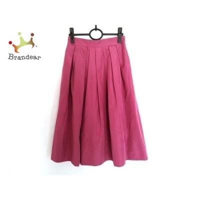 マイストラーダ Mystrada スカート サイズ36 S レディース 美品 レッド×ピンク  値下げ 20200905