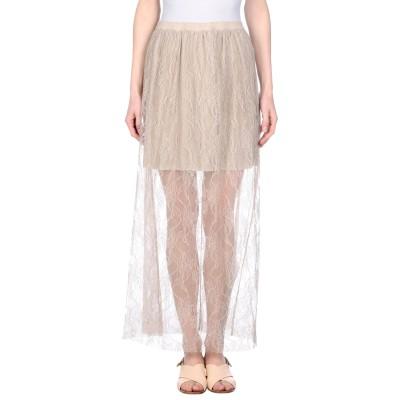TWENTY EASY by KAOS ロングスカート ベージュ L ナイロン 100% ロングスカート
