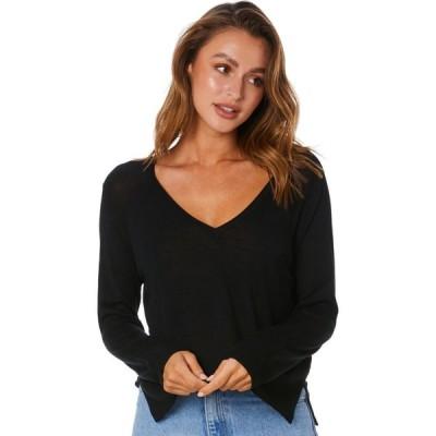 スウェル Swell レディース ニット・セーター トップス Easy Street Knit Sweater Black