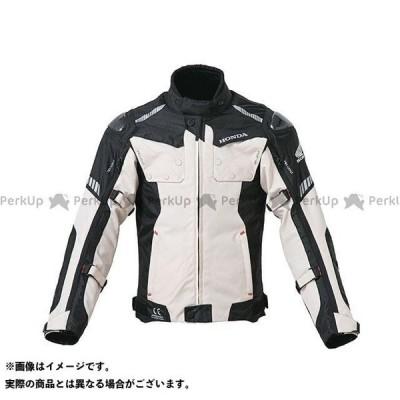 Honda Honda 2019-2020秋冬モデル オールシーズンカーボンジャケット(ライトグレー) サイズ:L ホンダ