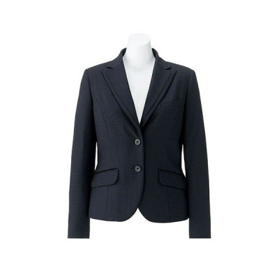 ボンマックス BONOFFICE ジャケット ネイビー 13号 AJ0251-8 1着(直送品)