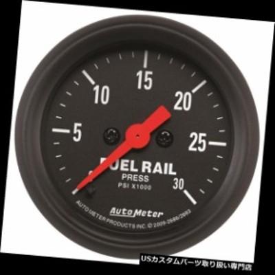 タコメーター オートメーターフューエルレール圧力計2686; Zシリーズ0-30000 psi 2-1 / 16電気  Aut