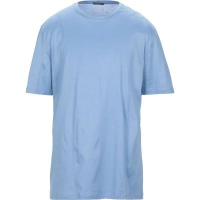 パルジレリ PAL ZILERI メンズ Tシャツ トップス t-shirt Sky blue