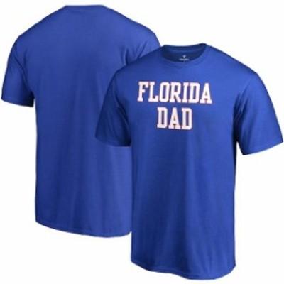 Fanatics Branded ファナティクス ブランド スポーツ用品  Fanatics Branded Florida Gators Royal Team Dad T-Shirt
