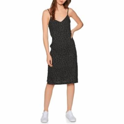 エレメント Element レディース ワンピース ワンピース・ドレス roberta dress Black Leopard
