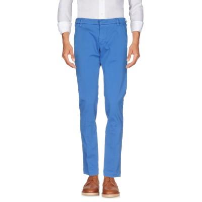 アントレ アミ ENTRE AMIS パンツ ブライトブルー 28 コットン 97% / ポリウレタン 3% パンツ
