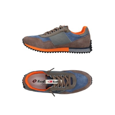 LOTTO LEGGENDA スニーカー&テニスシューズ(ローカット) グレー 40 革 / 紡績繊維 スニーカー&テニスシューズ(ローカット)