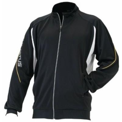 ZETT(ゼット) 野球 トレーニング ジャケット プロステイタス BPROT100S ブラック/ホワイト M