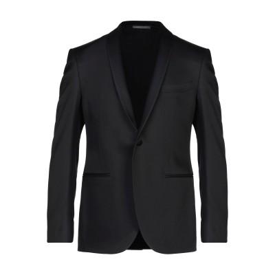 LUIGI BIANCHI Mantova テーラードジャケット ブラック 50 ウール 52% / レーヨン 48% テーラードジャケット