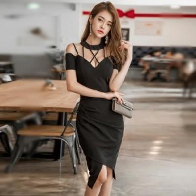キャバドレス キャバ ドレス ナイトドレス ミニドレス ゴージャス きれいめ 無地 シンプル p63