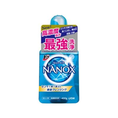 ライオン トップスーパーNANOX本体400g FC90906